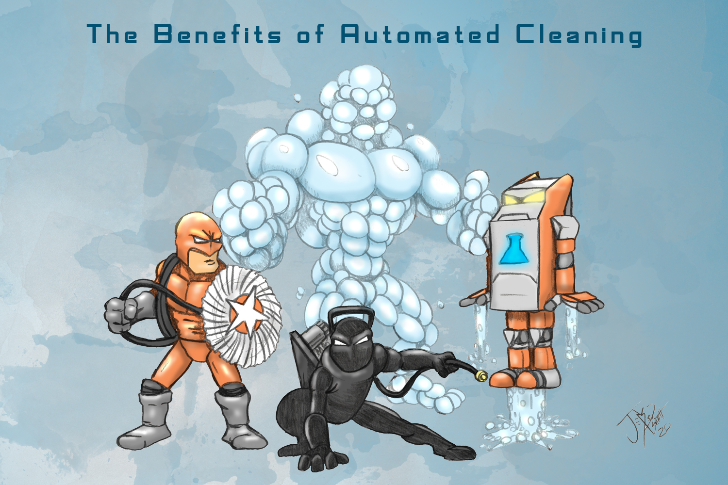 benefits of automated cleaning